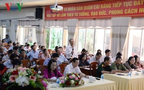 Chủ tịch Quốc hội tiếp xúc cử tri tại quận Cái Răng, TP Cần Thơ - ảnh 3