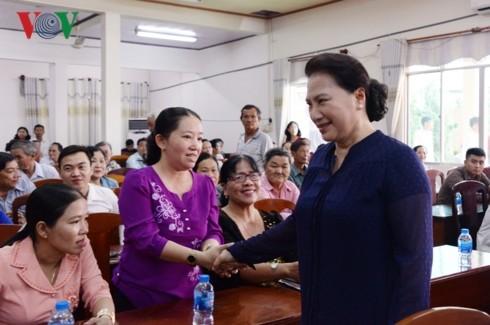 Chủ tịch Quốc hội tiếp xúc cử tri tại quận Cái Răng, TP Cần Thơ - ảnh 2