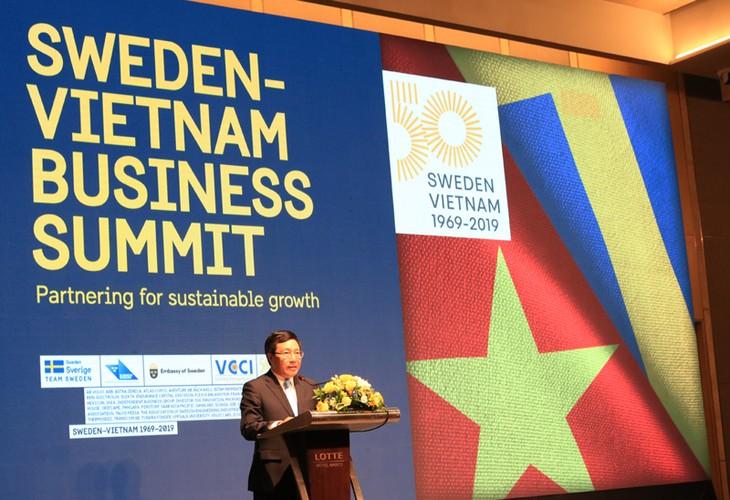 Việt Nam - Thụy Điển: Đối tác phát triển bền vững và Đổi mới sáng tạo - ảnh 4