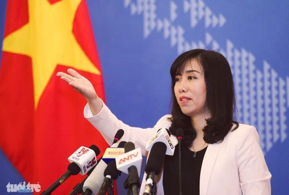 Việt Nam đề nghị Trung Quốc không tái diễn đua thuyền buồm ở Hoàng Sa - ảnh 1