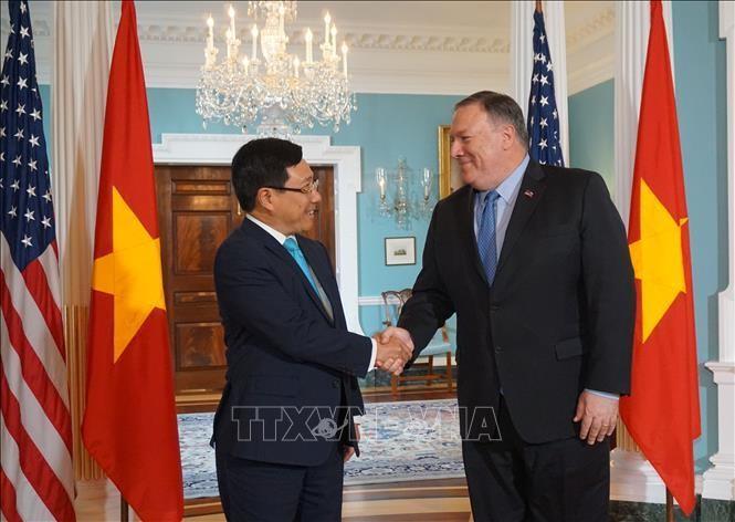 Phó Thủ tướng, Bộ trưởng Ngoại giao Phạm Bình Minh thăm chính thức Hoa Kỳ - ảnh 1