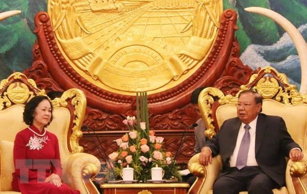 Lào và Việt Nam tiếp tục giữ gìn quan hệ hữu nghị đặc biệt  - ảnh 1