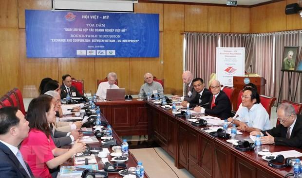 Thúc đẩy giao lưu và hợp tác doanh nghiệp Việt - Mỹ - ảnh 1