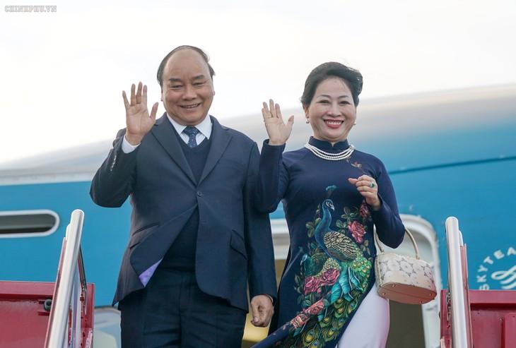 Thủ tướng Nguyễn Xuân Phúc tới Oslo, bắt đầu thăm chính thức Vương quốc Na Uy  - ảnh 1