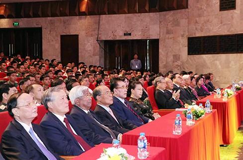 Lễ kỷ niệm cấp quốc gia 130 năm ngày sinh Trưởng ban Thường trực Quốc hội Nguyễn Văn Tố - ảnh 1