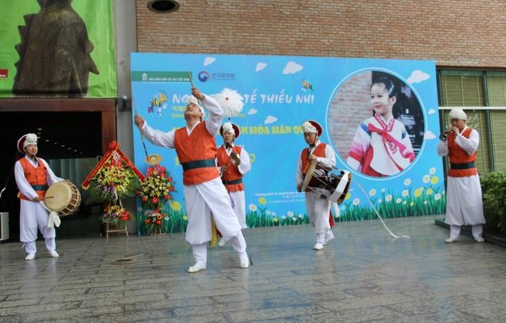 Khám phá văn hóa Hàn Quốc dịp Ngày Quốc tế thiếu nhi tại Hà Nội - ảnh 1