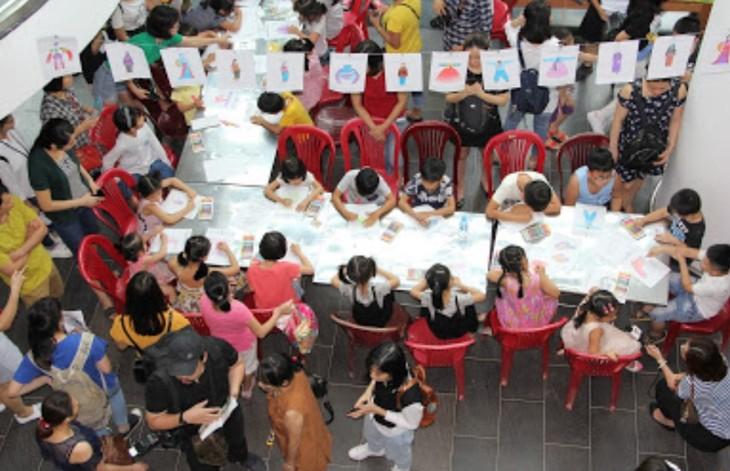 Khám phá văn hóa Hàn Quốc dịp Ngày Quốc tế thiếu nhi tại Hà Nội - ảnh 6