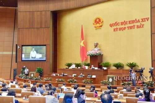 Quốc hội thảo luận về Dự án Bộ Luật lao động (sửa đổi) - ảnh 1