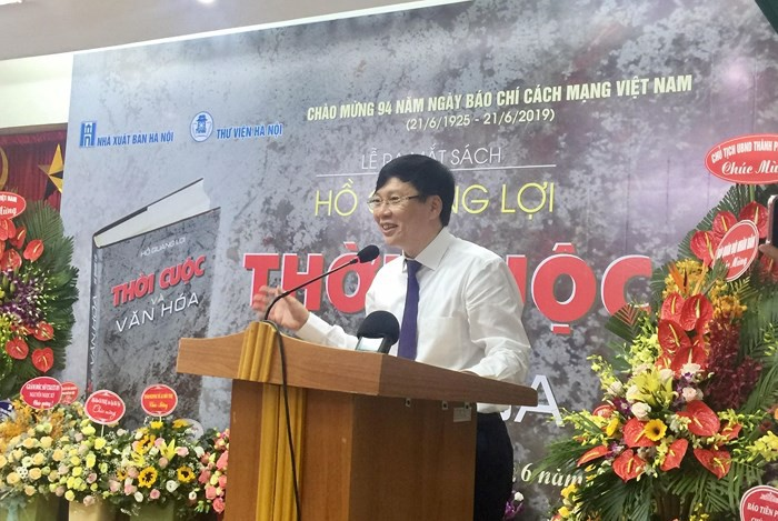Ra mắt cuốn sách 'Thời cuộc và Văn hóa' của nhà báo Hồ Quang Lợi - ảnh 1