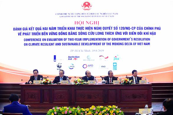 Thủ tướng chủ trì Hội nghị đánh giá 2 năm thực hiện Nghị quyết về phát triển bền vững ĐBSCL - ảnh 1