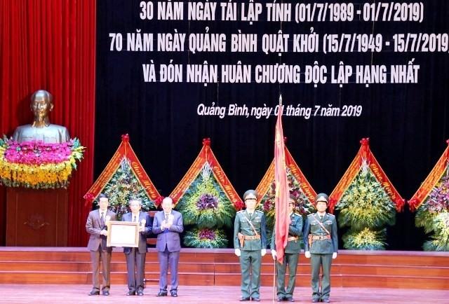 Lễ kỷ niệm 30 năm ngày tái lập tỉnh Quảng Bình - ảnh 1