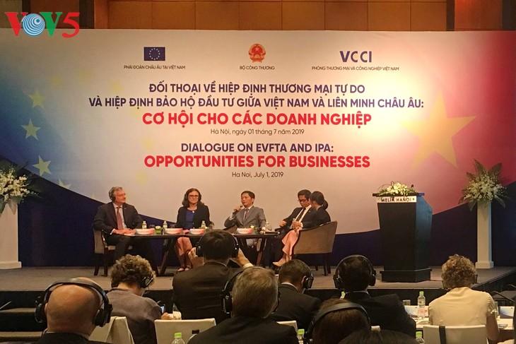 Hiệp định EVFTA và EVIPA: Cơ hội cho doanh nghiệp 2 bên mở rộng kinh doanh - ảnh 1