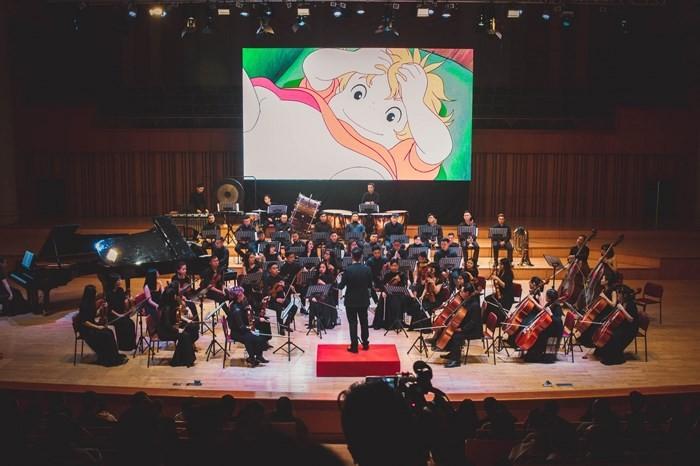 """Hòa nhạc """"Tân thế giới"""" với các bản nhạc phim Nhật Bản - ảnh 1"""