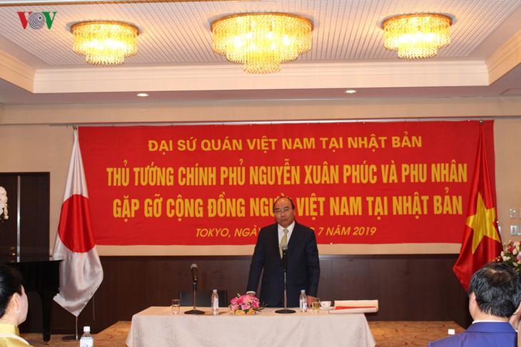 Thủ tướng Nguyễn Xuân Phúc gặp mặt tri thức, cộng đồng Việt Nam tại Nhật Bản - ảnh 1