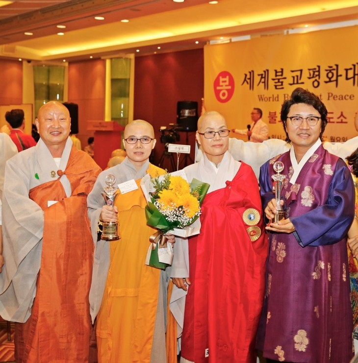 Sư cô Thích Nữ Giới Tánh nhận giải thưởng Hòa bình Phật giáo thế giới - ảnh 3