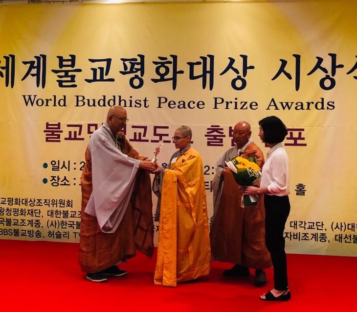 Sư cô Thích Nữ Giới Tánh nhận giải thưởng Hòa bình Phật giáo thế giới - ảnh 5