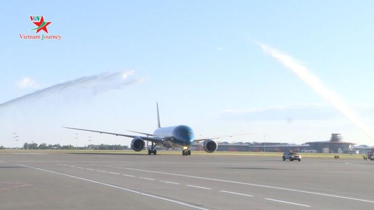 Vietnam Airlines chính thức khai thác các chuyến bay tại sân bay quốc tế Sheremetyevo của Nga - ảnh 1