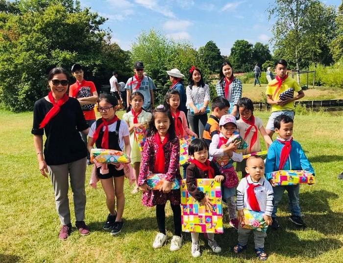 Sôi nổi trại Hè thiếu nhi Việt Nam tại Xứ sở hoa Tulip - ảnh 1