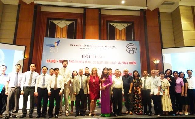 Hội thảo Hà Nội – Thành phố vì hòa bình - ảnh 1