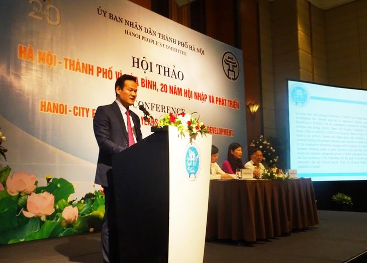 Hội thảo Hà Nội – Thành phố vì hòa bình - ảnh 2