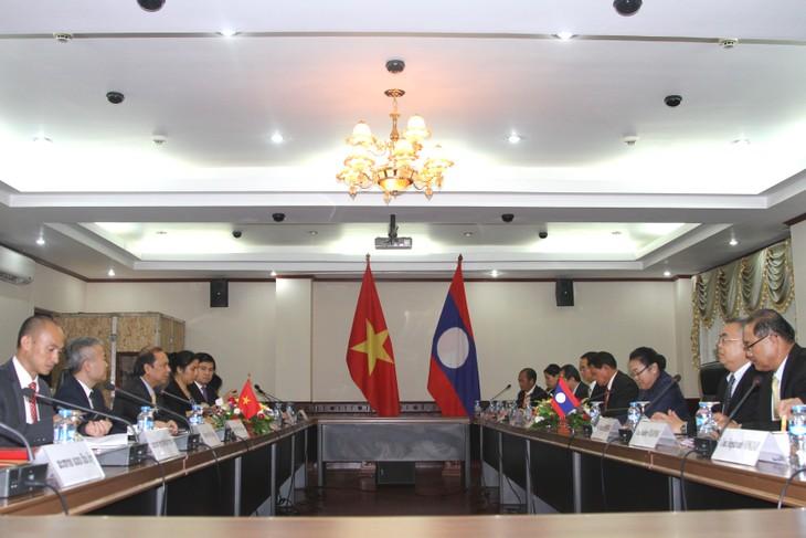 Đẩy mạnh hợp tác trong lĩnh vực ngoại giao giữa Việt Nam và Lào - ảnh 1