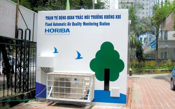 Pháp lắp đặt trạm quan trắc chất lượng không khí tại Hà Nội - ảnh 2