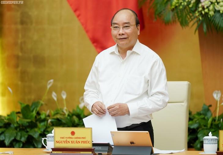 Thủ tướng Nguyễn Xuân Phúc kết luận phiên họp thường kỳ Chính phủ - ảnh 1