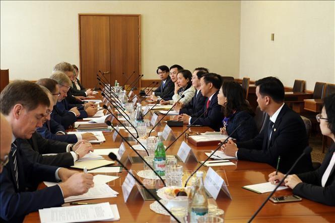 Bộ trưởng Bộ Nội vụ Lê Vĩnh Tân thăm, làm việc tại Liên bang Nga - ảnh 1