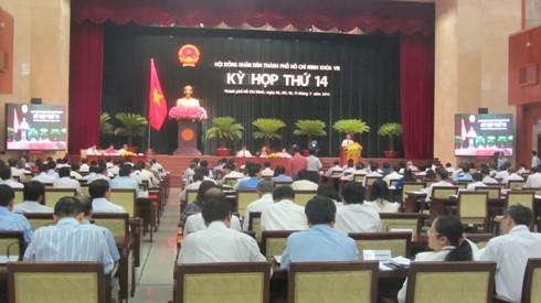 На 14-й сессии Народного Совета г. Хошимина главное внимание будет уделено вопросу Восточного моря - ảnh 1