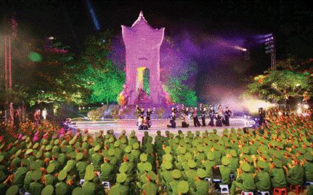 Посещение военного кладбища Чыонгшон в июльские дни - ảnh 3