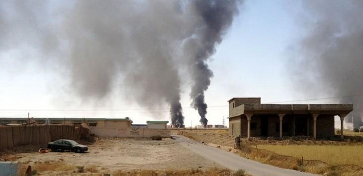 Возле консульства США в Ираке произошёл взрыв - ảnh 1