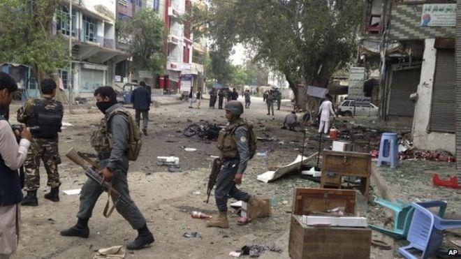 «Исламское государство» взяло на себя ответственность за взрыв на востоке Афганистана - ảnh 1