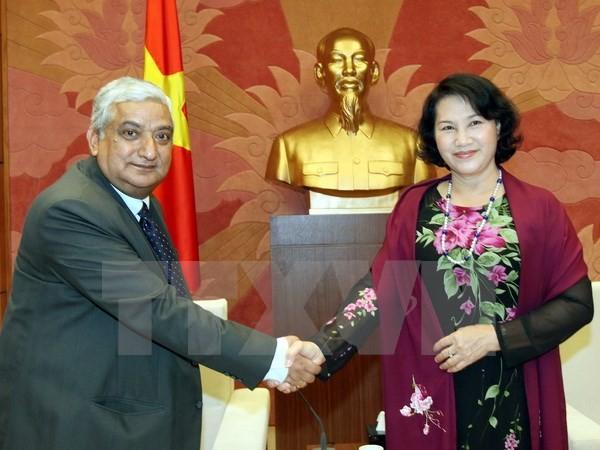 Нгуен Тхи Ким Нган приняла делегацию генеральной счетной палаты Непала - ảnh 1