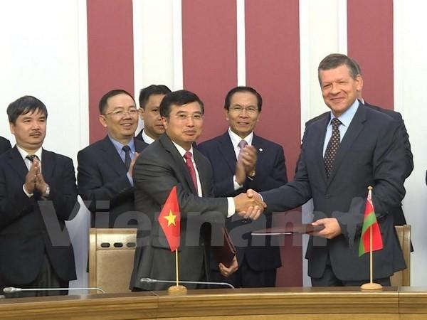 В Минске состоялась 12-я сессия вьетнамо-белорусского межправительственного комитета - ảnh 1