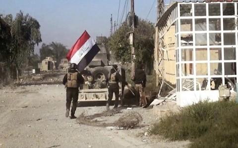 Армия Ирака освободила город Эр-Рамади  - ảnh 1