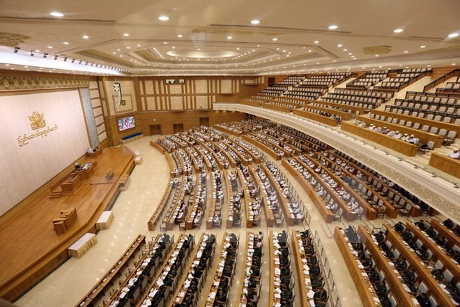 Парламент Мьянмы одобрил размежевание земельного участка под создание ИЭЗ на западе страны - ảnh 1