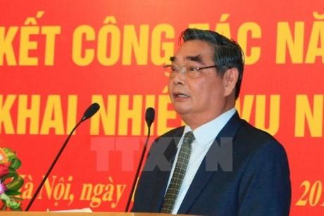 Состоялось 5-е заседание подкомиссии по организационным вопросам 12-го Съезда КПВ - ảnh 1