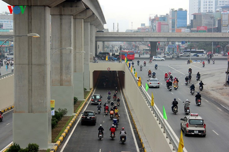 В Ханое введены в эксплуатацию транспортные туннели  - ảnh 2