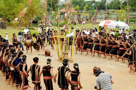 Ритуал народности Зе-ченг, посвященный собранному урожаю  - ảnh 2