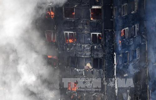 Десятки человек числятся пропавшими без вести после пожара в жилом доме в Лондоне - ảnh 1