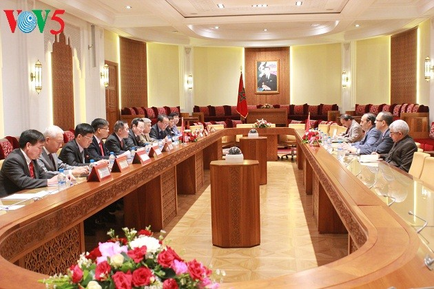 Вице-спикер парламента Вьетнама Фунг Куок Хиен посетил Королевство Марроко - ảnh 1