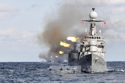 Республика Корея начала военные учения в море - ảnh 1