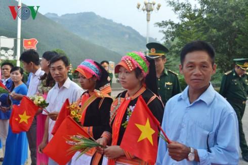 Прошла вьетнамо-китайская дружеская встреча в сфере пограничной обороны - ảnh 1