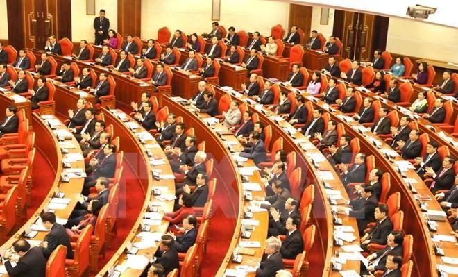 В Ханое продолжается 6-й пленум ЦК Компартии Вьетнама 12-го созыва - ảnh 1