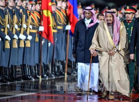 В Кремле состоялись переговоры президента РФ и короля Саудовской Аравии - ảnh 1