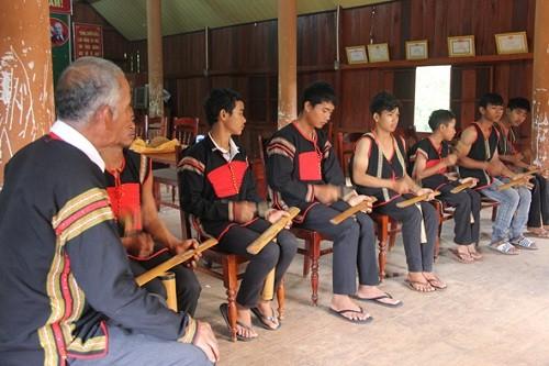 Бамбуковые гонги – особая культурная черта народности Эдэ - ảnh 1
