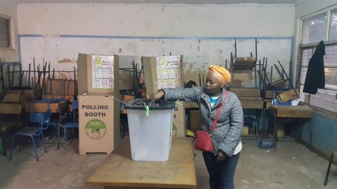 В Кении начались повторные президентные выборы  - ảnh 1