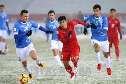 Японские СМИ высоко оценили вьетнамский футбол  - ảnh 1
