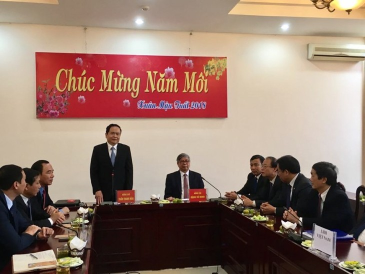 Необходимо развивать роль организаций Отечественного фронта Вьетнама - ảnh 1