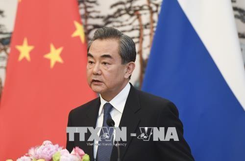 Глава МИД Китая начал визит в КНДР - ảnh 1